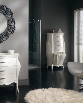 mobilier-de-baie-alb